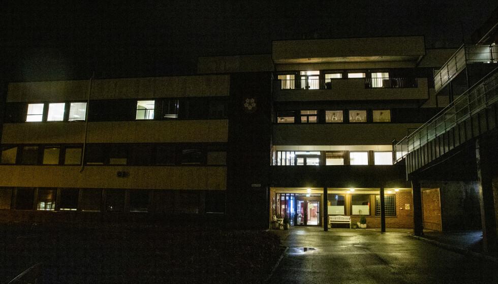 På Liertun sykehjem i Lier kommune er det registrert fire koronarelaterte dødsfall. Det forrige skjedde 16. november. Foto: Terje Pedersen / NTB