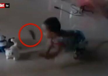Image: Redder barnet i siste liten