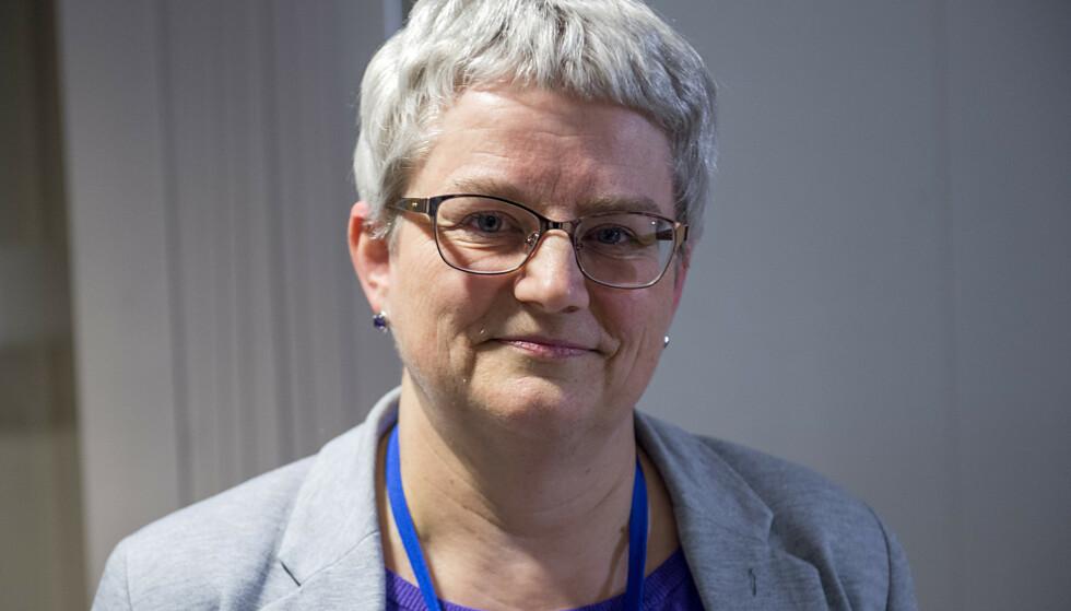 Brita Øygard jobber for tiden som kommuneoverlege og smittevernoverlege i Bergen. Foto: Marit Hommedal / NTB