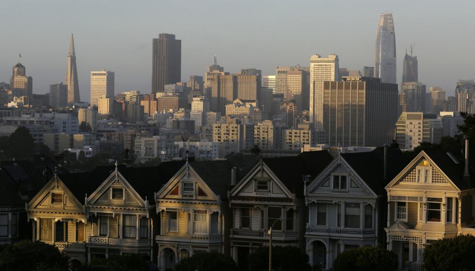 San Francisco-området stenger ned