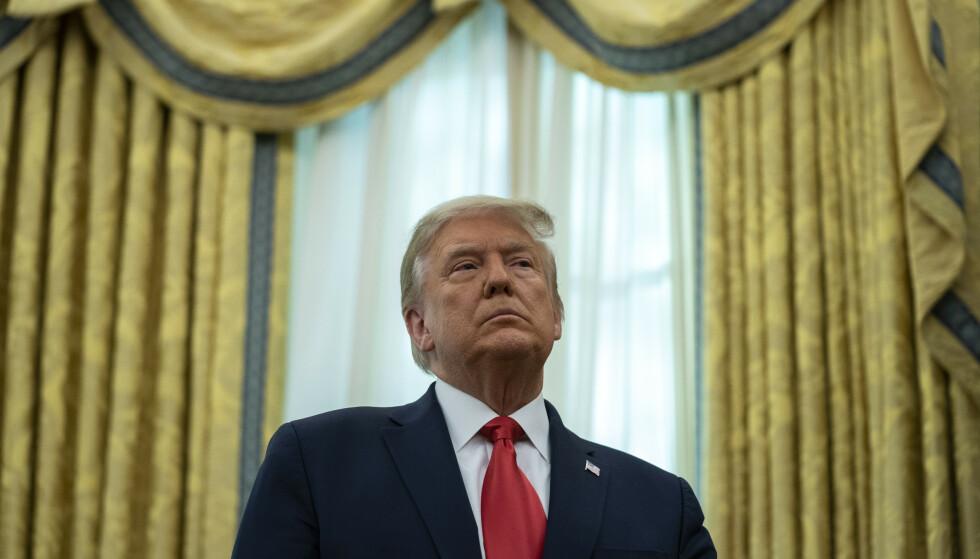 President Donald Trump har gjennopptatt henrettelser på føderalt nivå og bruker dem ifølge kritikere som et politisk verktøy. Foto: AP / NTB