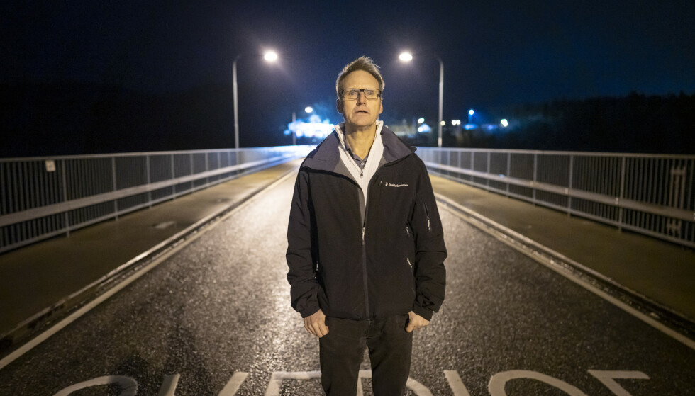 En usynlig mur har lagt seg mellom Sverige og Norge. Det har medført rekord i handelen på norsk side og rekordstor arbeidsløshet på svensk side. Strömstad-ordfører Kent Hansson ser dystert på det neste halvåret. Foto: Heiko Junge / NTB