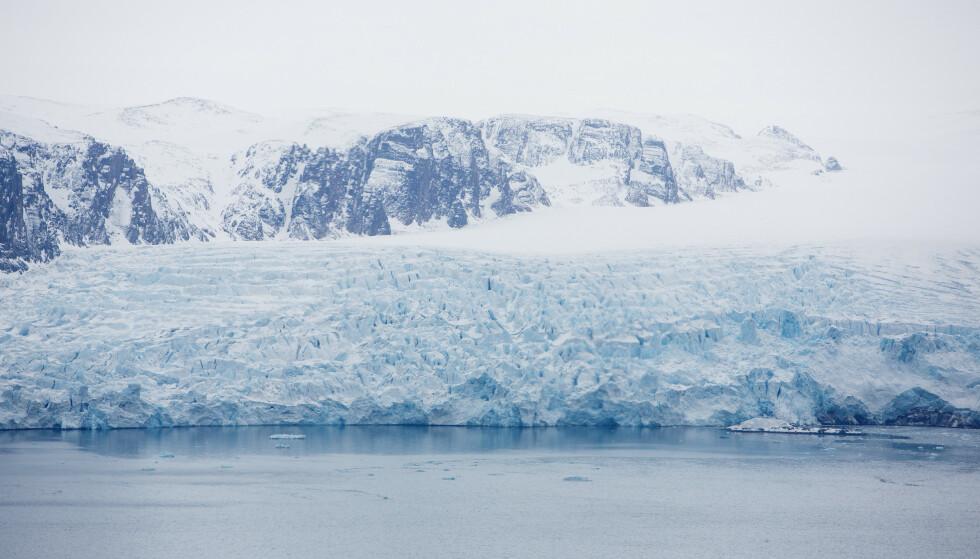 Svalbard og Arktis er de områdene i verden hvor klimaendringene merkes mest og først. Foto: Tore Meek / NTB