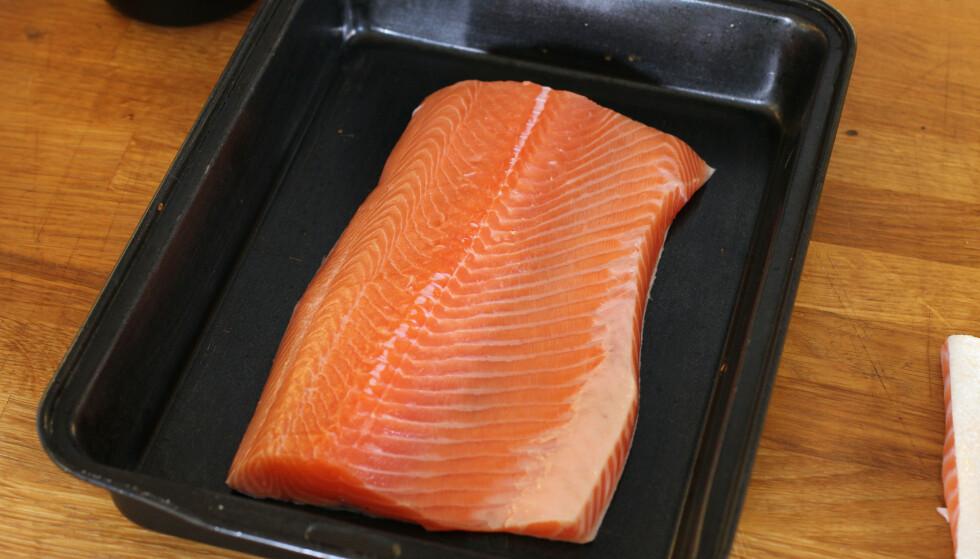 Finn en god form hvor fisken ligger fint
