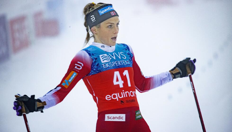 Therese Johaug og resten av det norske langrennslandslaget går ikke Tour de Ski denne sesongen. Foto: Geir Olsen / NTB