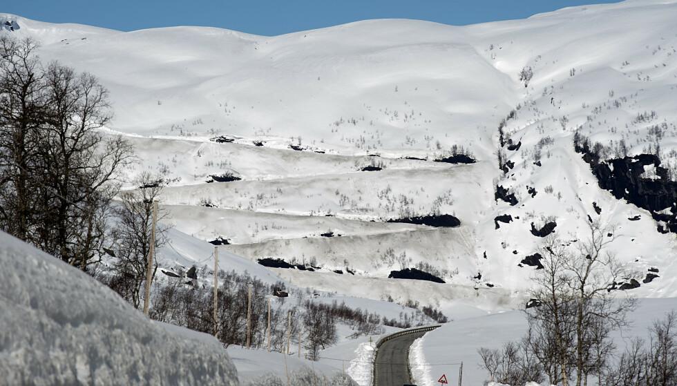 Det er snøskredfare flere steder i landet. Foto: Marit Hommedal / NTB