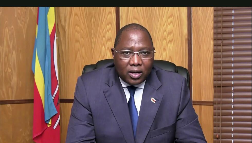 Ambrose Mandvulo Dlamini (52) døde etter å ha blitt smittet av covid-19. Foto: NTB scanpix / AP