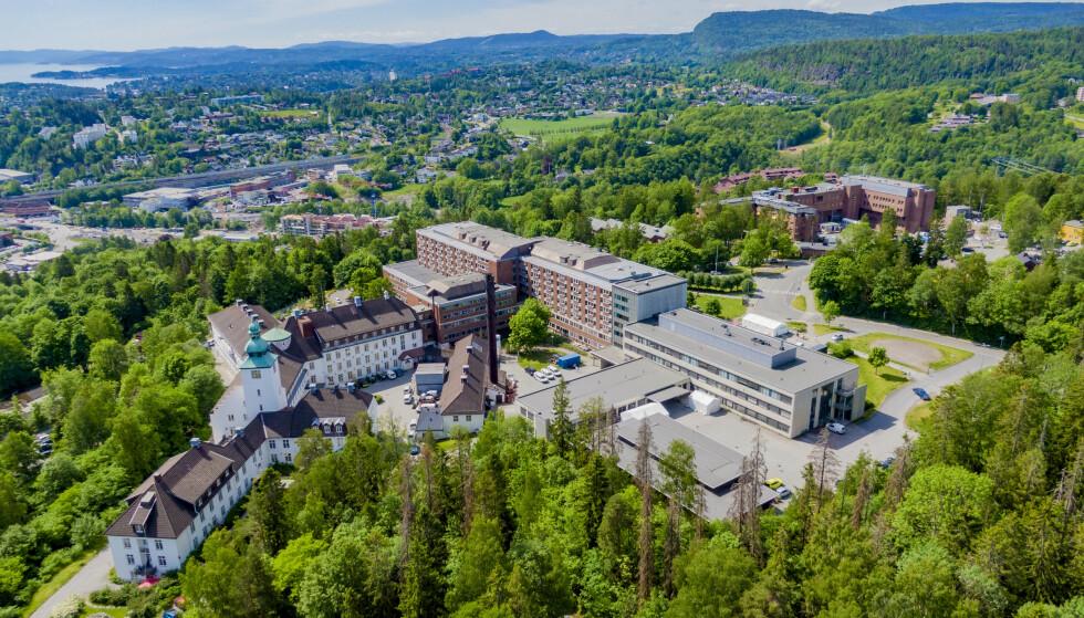 Bærum sykehus Vestre Viken Helseforetak og Martina Hansens Hospital. Foto: Stian Lysberg Solum / NTB