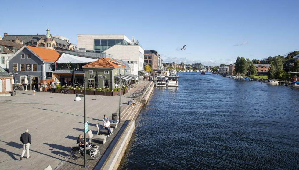 Fredrikstad er blant kommunene som før koronavaksinen først. Foto: Terje Pedersen / NTB