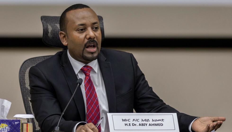 Massakren i Benishangul-Gumuz-regionen vest i Etiopia, skjedde dagen etter at statsminister Abiy Ahmed hadde besøkt området. Foto: AP / NTB