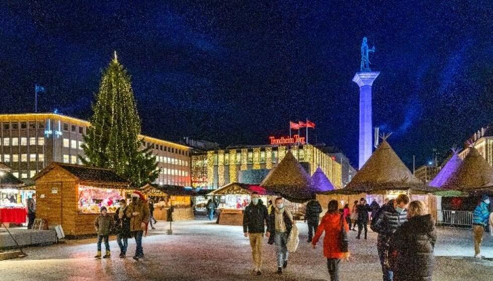 Trondheim har hatt en rekke smittetilfeller i julehøytiden. Foto: Gorm Kallestad / NTB