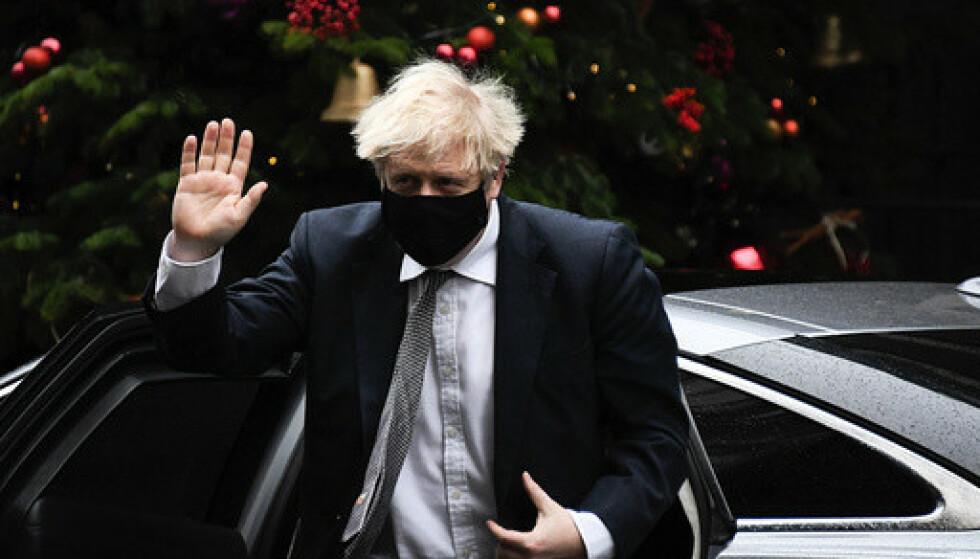 Boris Johnson slagord gjennom hele prosessen har vært «få brexit unnagjort». Arkivfoto: Alberto Pezzali / AP / NTB
