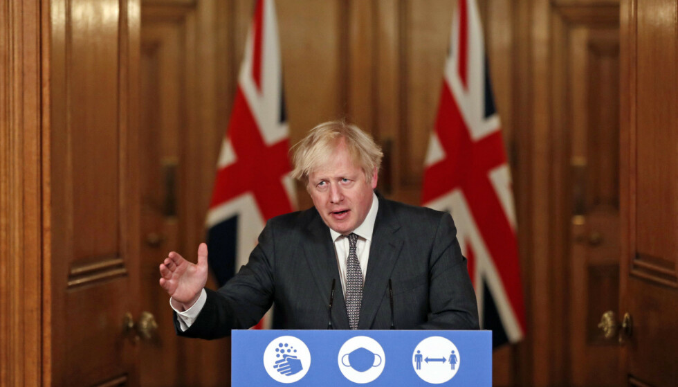 Storbritannias statsminister Boris Johnson. Foto: Heathcliff O'Malley / Pool via AP / NTB