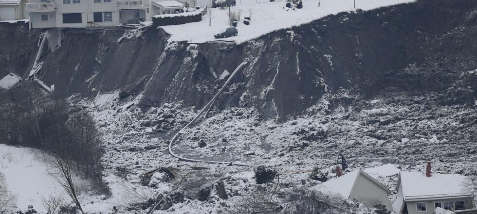 NVE: Kan ta opptil ett år eller lenger før evakuerte i Gjerdrum kan flytte tilbake
