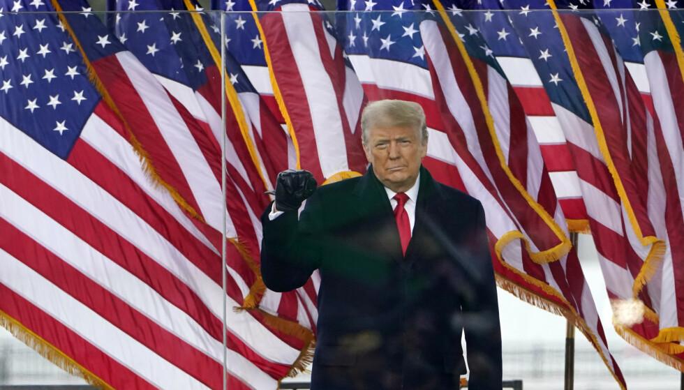 USAs avtroppende president Donald Trump lover å gi fra seg makten 20. januar. Foto: Jacquelyn Martin / AP / NTB