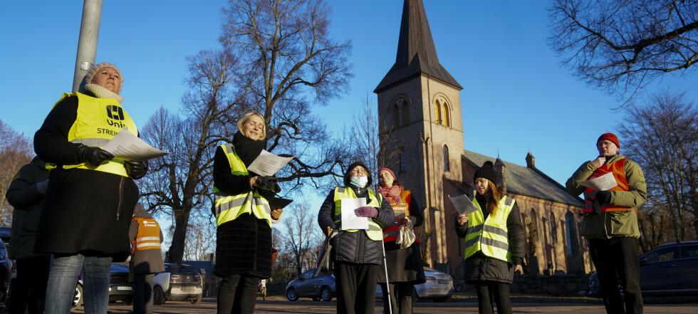 Kirkestreiken avsluttet etter en måned