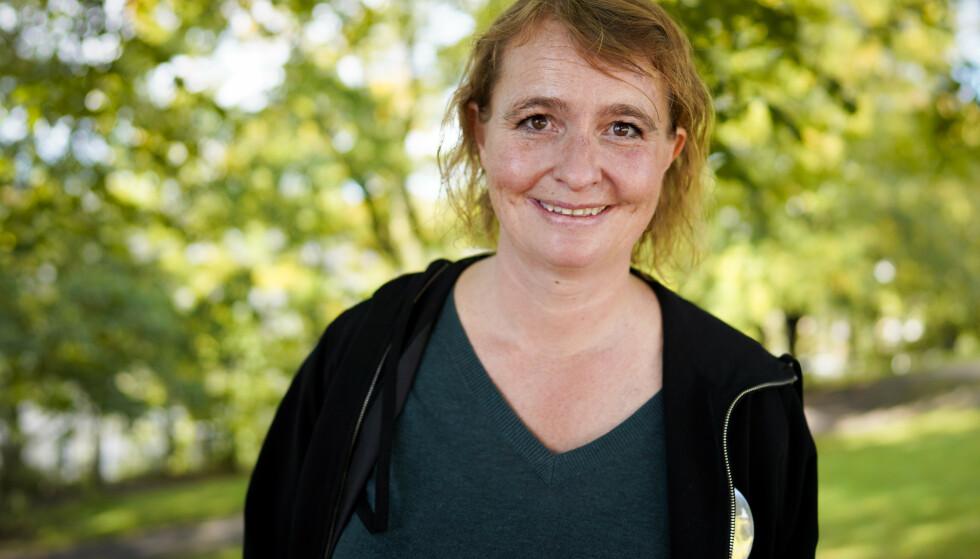 – Jeg har mest tro på at det er Senterpartiet som kan løse de sakene jeg brenner for, sier Ullevål-aksjonist Lene Haug til Dagsavisen. Foto: Fredrik Hagen / NTB
