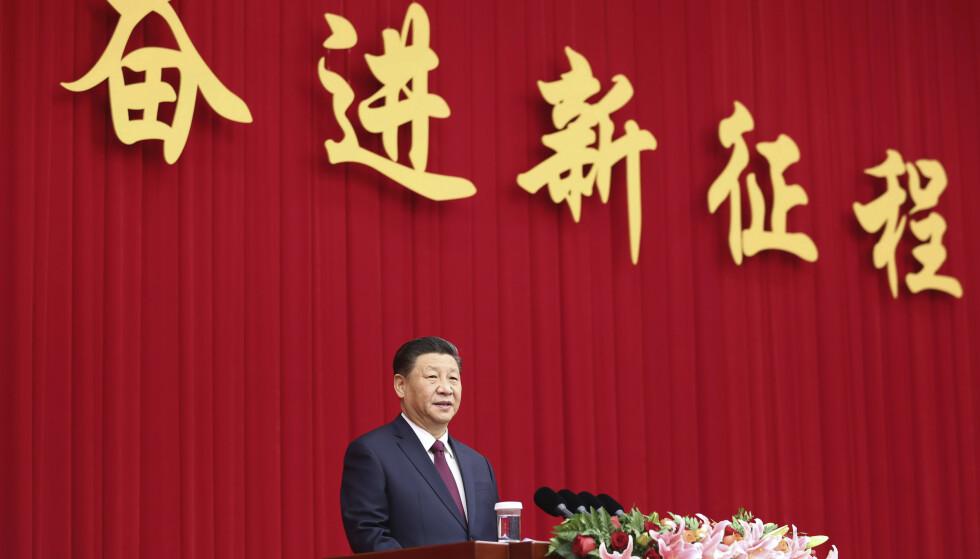 Undertrykkelsen i Kina har forverret seg kraftig de siste årene under Xi Jinping, ifølge Human Rights Watch. Foto: AP / NTB