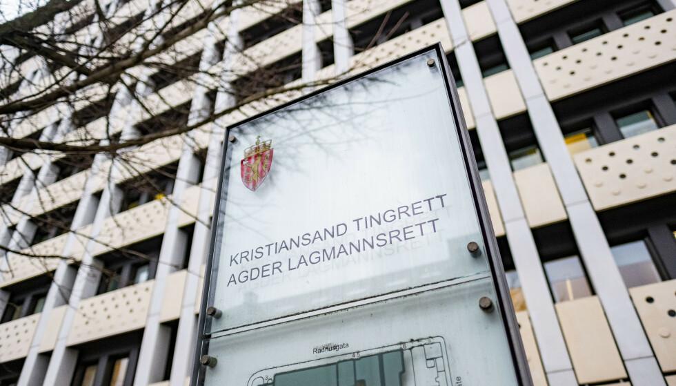 Mannen i 40-årene må møte i Kristiansand tingrett 10. februar. Foto: Tor Erik Schrøder / NTB