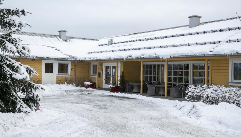 Det er påvist en mutert utgave av coronaviruset på Fjell bo- og servicesenter i Drammen. Foto: Terje Pedersen / NTB