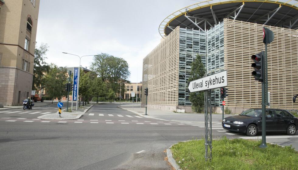 En skoleelev i Sør-Fron ble torsdag sendt til Ullevål sykehus etter en akeulykke ved Midtbygda skole. Foto: Terje Pedersen / NTB