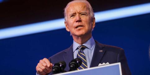 Image: Joe Biden: - Hva faen er galt med dem?