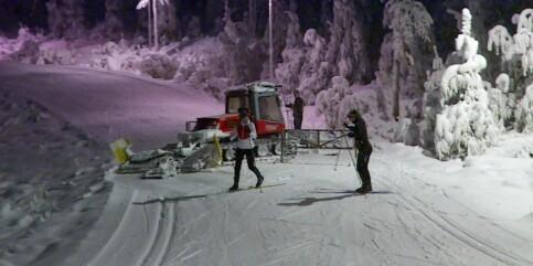 Image: Her må skiløperne snu for å unngå corona-smell