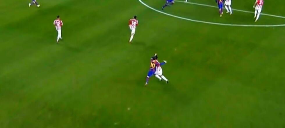 Her blir Messi utvist