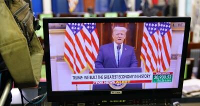 Image: Se Trumps avskjedstale