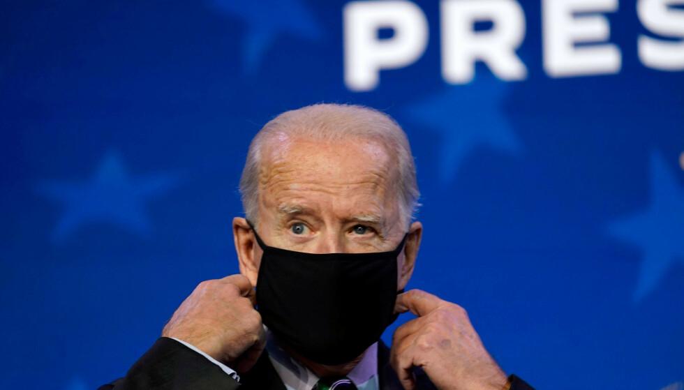 USAs påtroppende president Joe Biden har mye å gjøre framover. Foto: Matt Slocum / AP / NTB
