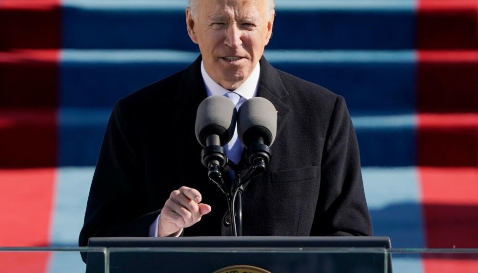 USAs president, Joe Biden. Foto: Patrick Semansky/POOL/AFP/NTB