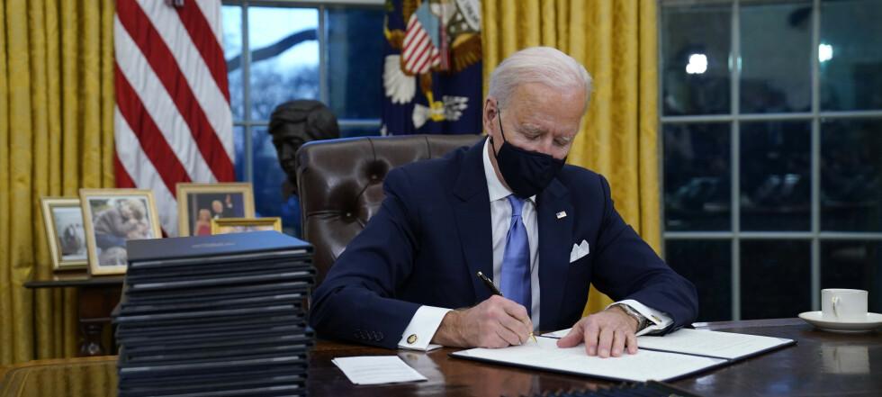 Washington Post: Biden vil forlenge atomavtale med Russland