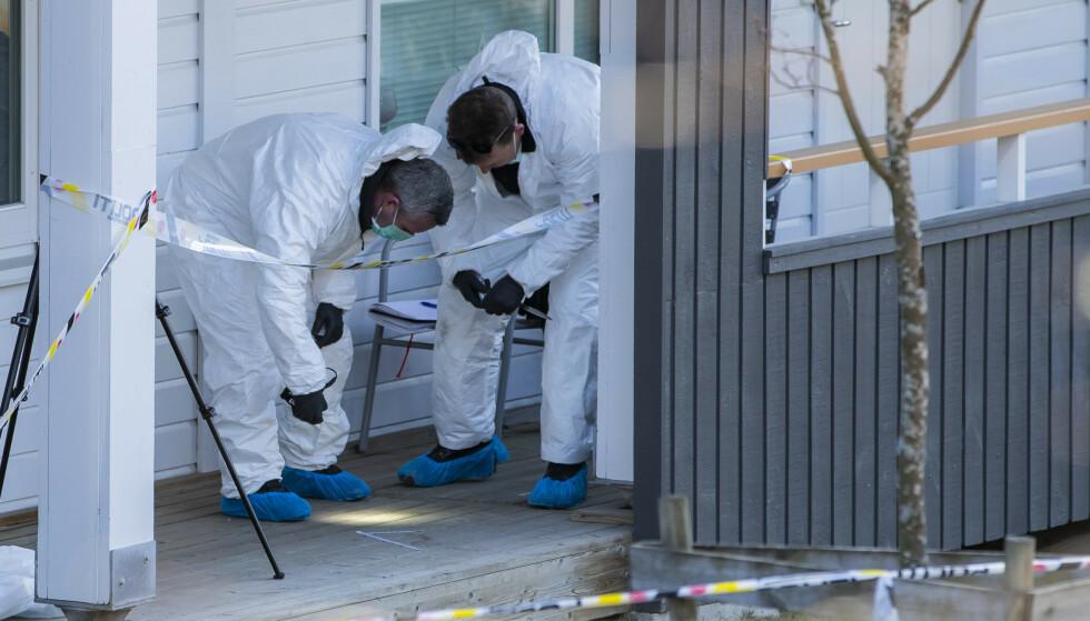 Kvinnen ble funnet død 1. april 2019. Rettssaken startet mandag 11. januar. Foto: Håkon Mosvold Larsen / NTB