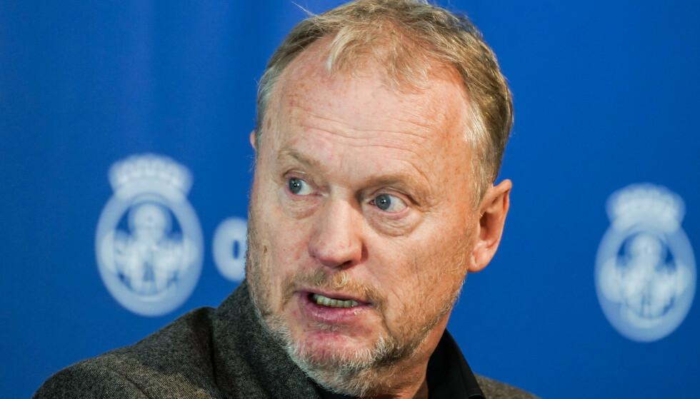 Byrådsleder Raymond Johansen (Ap) under en pressekonferanse om koronasituasjonen i Oslo. Foto: Terje Pedersen / NTB