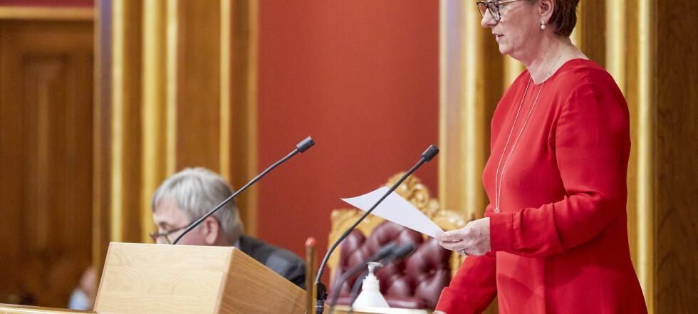 Stortinget stenger ned neste uke