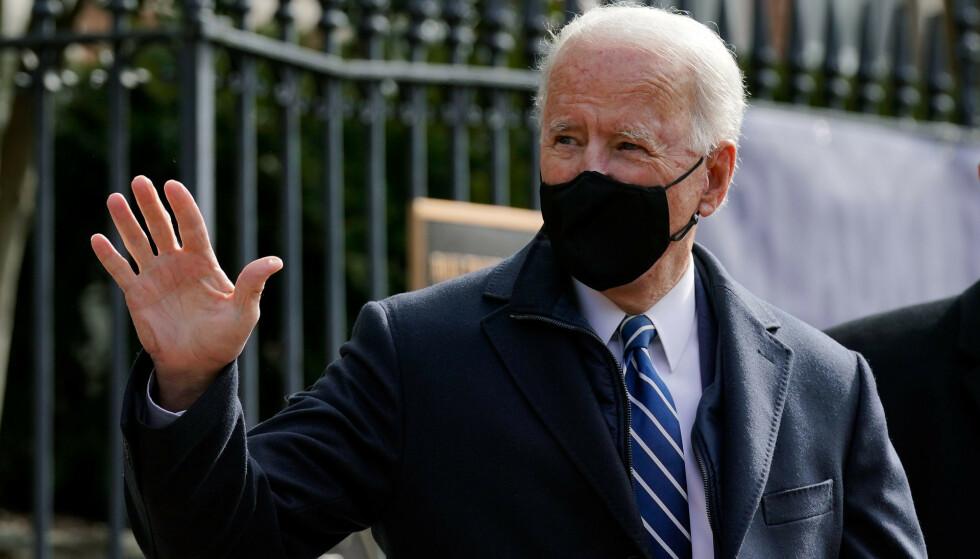 President Joe Biden opphever forbudet mot transpersoner i det militære. Foto: Patrick Semansky / AP / NTB