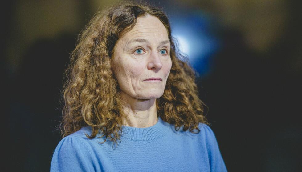 Direktør Camilla Stoltenberg i Folkehelseinstituttet tror de strenge tiltakene som gjelder denne uken ikke vil være nødvendige hvis smittetallene fortsetter å synke. Foto: Stian Lysberg Solum / NTB