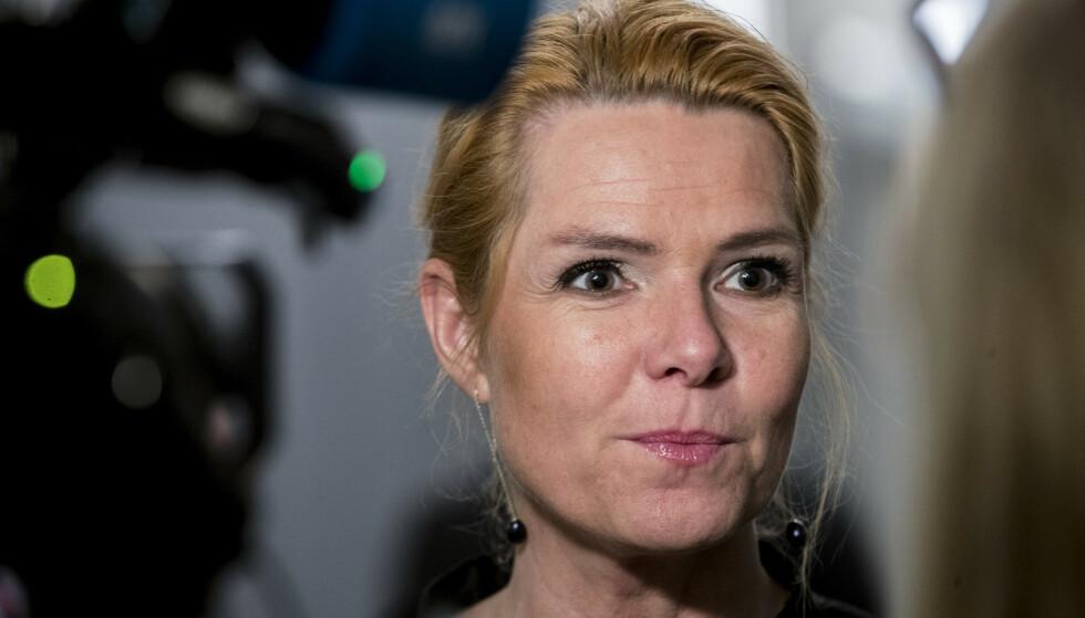 Riksrettssaken mot tidligere innvandringsminister Inger Støjberg, som tilhører partiet Venstre, ventes å starte senere i år. Foto: Vidar Ruud / NTB