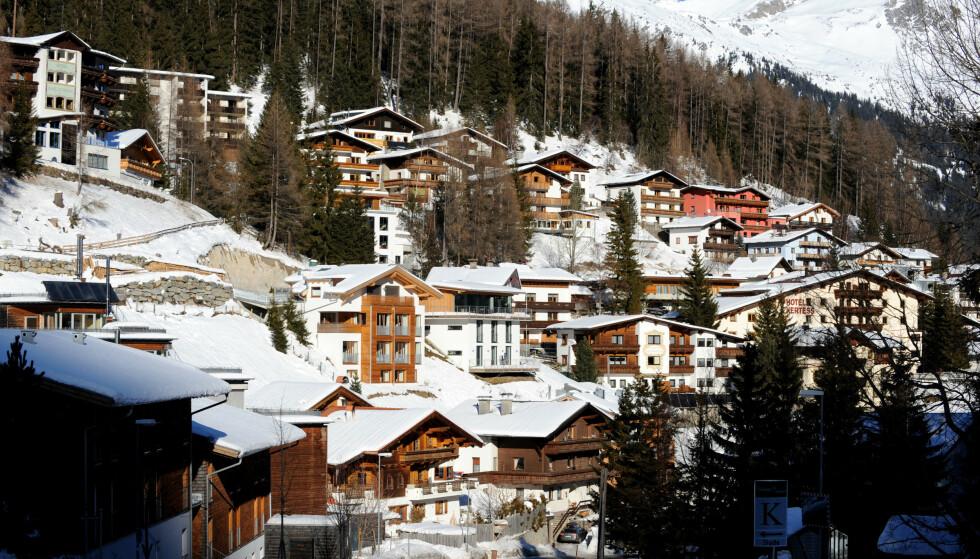 Alpebyen St. Anton am Arlberg i Tyrol. Foto: Mark Large / Rex / NTB