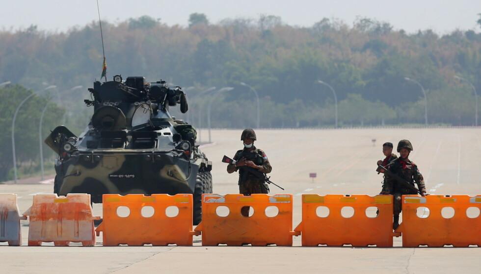 FN er bekymret for situasjonen i Myanmar. Foto: Reuters/NTB