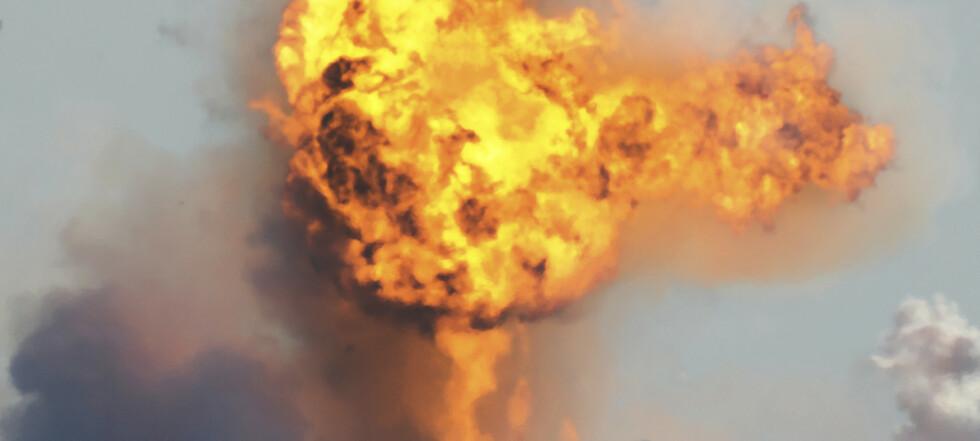 SpaceX-rakett eksploderte under testlanding