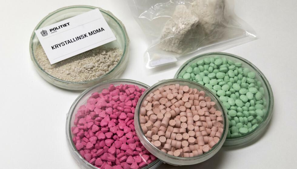 Antall MDMA-beslag steg til nye høyder i fjor. Illustrasjonsfoto: Gorm Kallestad / NTB