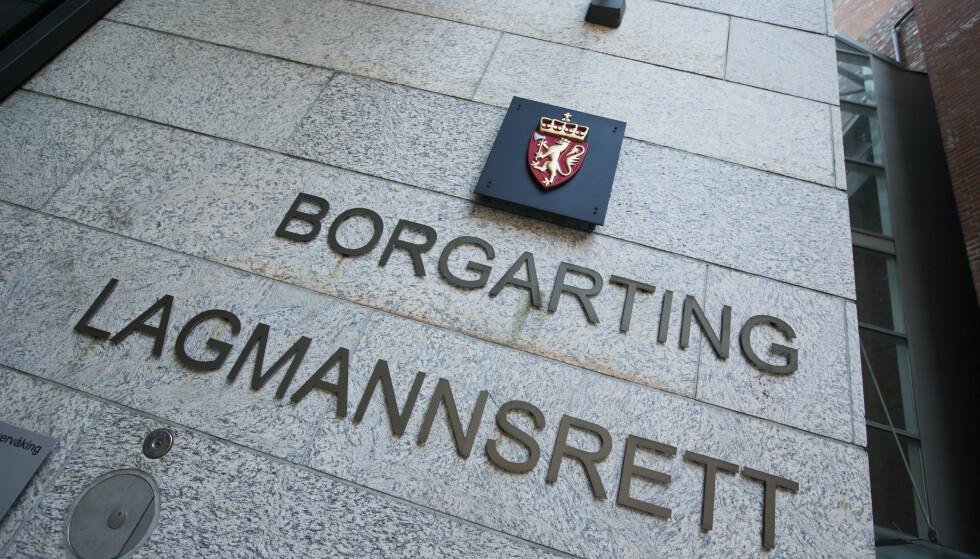 En dansk mann er i Borgarting lagmannsrett dømt til ti og et halvt år fengsel for narkotikasmugling. Foto: Trond Reidar Teigen / NTB