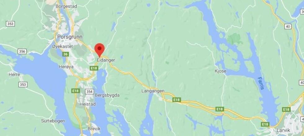 19-åring tiltalt for å ha kjørt i 265 kilometer i timen på E18