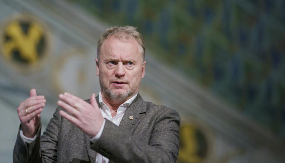 Byrådsleder Raymond Johansen skal igjen orientere om coronasituasjonen i Oslo tirsdag. Arkivfoto: Stian Lysberg Solum / NTB