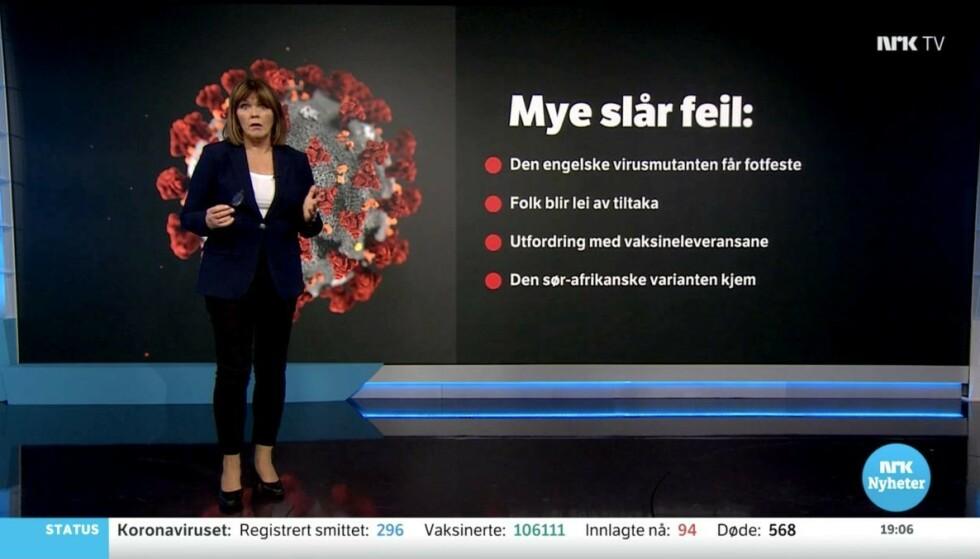 Skjermbilde: NRK TV