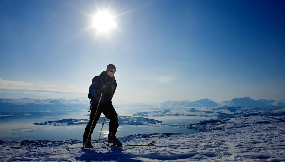 De neste dagene blir det knallvær flere steder i Nord-Norge, blant annet i Tromsø. Illustrasjonsfoto: Kyrre Lien / NTB
