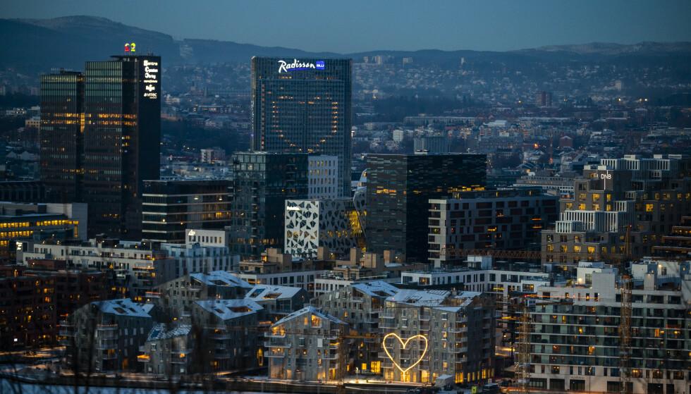 Utsikt over Oslo. Foto: Berit Roald / NTB