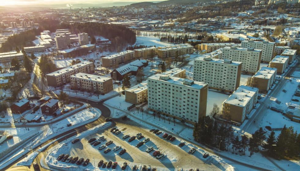 Oslo 20210207.  Bydel Stovner i Oslo. Foto: Stian Lysberg Solum / NTB