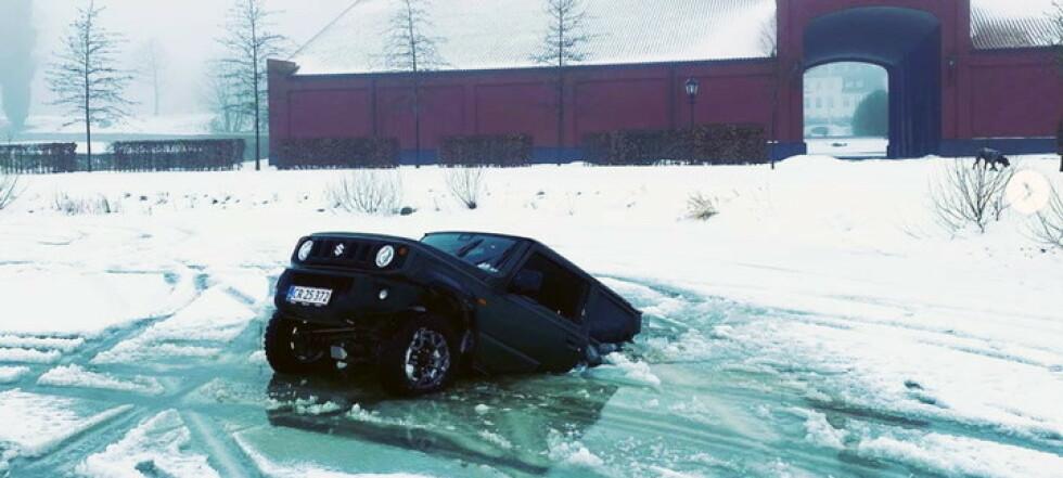 Millardæren: Glad det ikke var Rolls-Roycen